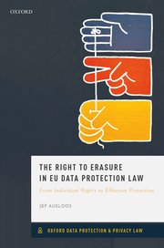 The Right to Erasure in EU Data Protection Law: From Individual Rights to Effective Protection